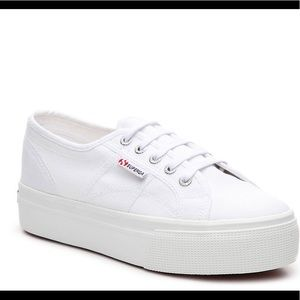 New with tags Superga Platform Shoes
